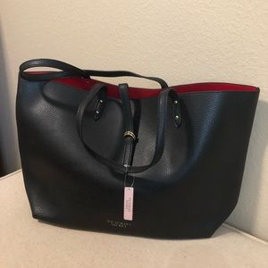 Victoria's Secret Faux Leather Valentine Tote Bag